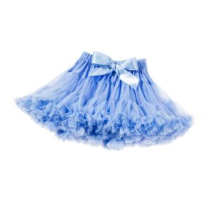 ANGEL'S FACE Bluebell Blue Chiffon Frilled Tutu Skirt