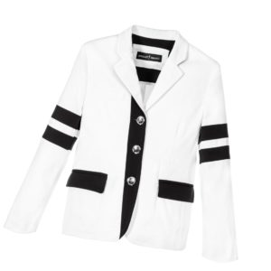 CESARE PACIOTTI Boys Monochrome Cotton Blazer