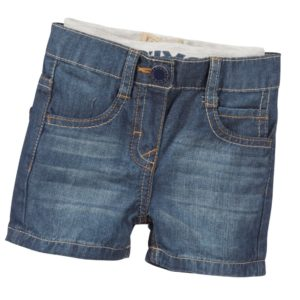LEVI'S Baby Boys Blue Lightweight Denim Shorts
