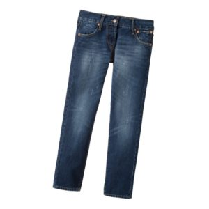 LEVI'S Boys Blue Denim Original 501 Jeans