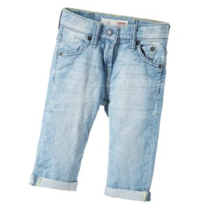 LEVI'S Boys Slim Fit '511' Denim Bermuda Shorts