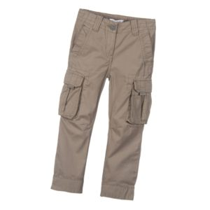 LITTLE MARC JACOBS Boys Olive Green Cargo Trousers