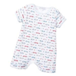 MAGNOLIA BABY Boys Pima Cotton 'Start Your Engines' Shortie