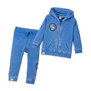 MOLO Baby Boys Blue 'Dude' Tracksuit