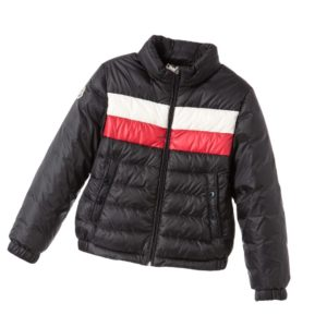 MONCLER Black Down Padded 'Claudien' Jacket