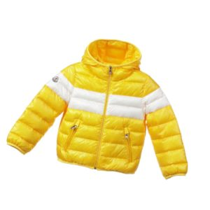 MONCLER Bright Yellow Down Padded 'Thibaut' Jacket