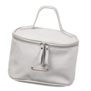 PASITO A PASITO Grey Spotted Toiletry Case