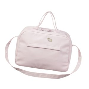 PASITO A PASITO Pale Pink 'Elodie' Baby Changing Bag