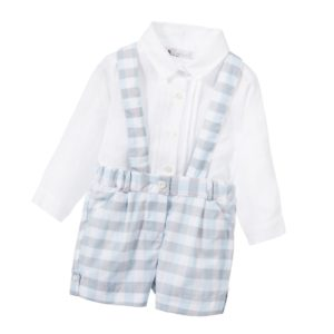 PATACHOU Boys Linen Shirt & Cotton Shorts 2 Piece Set