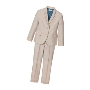 PAUL SMITH JUNIOR Boys Beige 'Leighton' 2 Piece Wool Suit