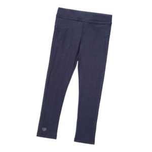 SARABANDA Girls Blue Denim Look Jeggings