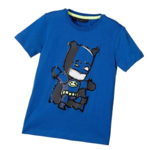 SILVIAN HEACH Boys Blue Cartoon Superhero T-Shirt