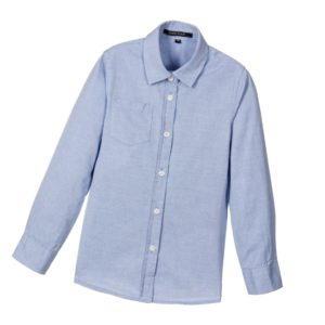 SILVIAN HEACH Boys Blue Oxford Cotton Shirt