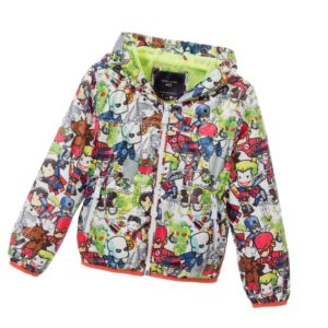 SILVIAN HEACH Boys Robot Super Hero Print Windcheater Jacket