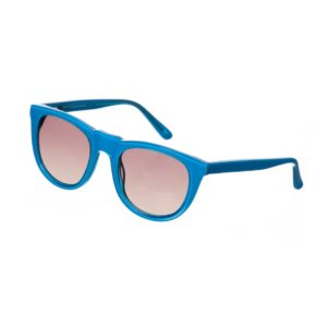 SONS + DAUGHTERS Neon Blue 'Bobby' Sunglasses