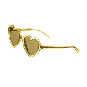 SONS + DAUGHTERS Yellow Heart 'Lola' Sunglasses