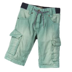 TIMBERLAND Boys Green Cotton Cargo Shorts