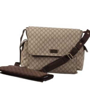GUCCI Beige 'GG' Baby Changing Bag