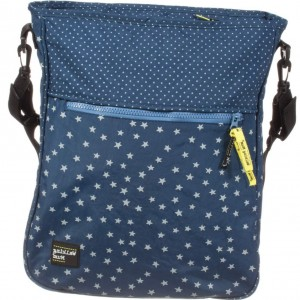 PASITO A PASITO WALKING MUM Blue & Grey Stars Baby Changing Bag