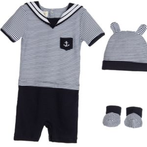 COUCHE TOT Baby Boys Nautical 3 Piece Set