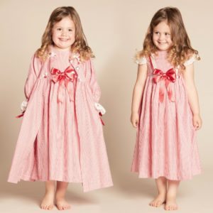 COUCHE TOT Girls Red 2 Piece Nightwear Set2