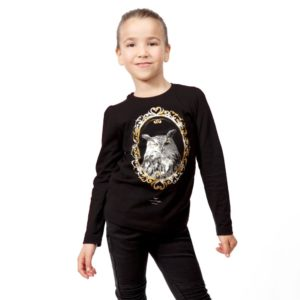 miguel-vieira-girls-black-owl-print-t-shirt1
