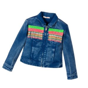 BILLIEBLUSH Girls Blue Denim Jacket