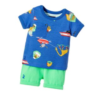 JOULES Baby Boys 'Josh' 2 Piece Outfit