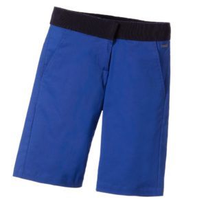 LANVIN Boys Blue Cotton Shorts