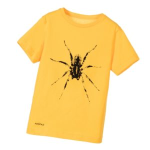 LANVIN Boys Yellow Spider Cotton T-Shirt