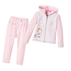MAYORAL Baby Girls Pink Tracksuit