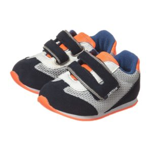 MAYORAL Boys Navy Blue & Neon Orange Trainers