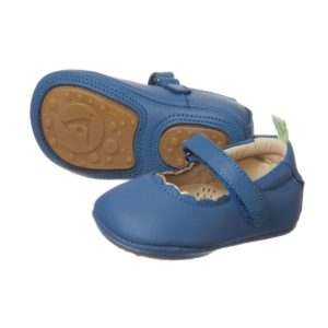 TIP TOEY JOEY Baby Girls Blue Shoes
