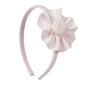 TRESTELLE Girls Pink Hand Made Hairband